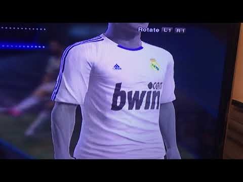 PES 2013 (PS3) – Real Madrid 2010/11 Kit (Home)
