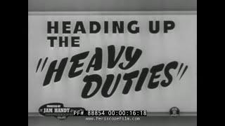 CHEVROLET 1950s HEAVY TRUCK FILM HEADING UP THE HEAVY DUTIES  88854