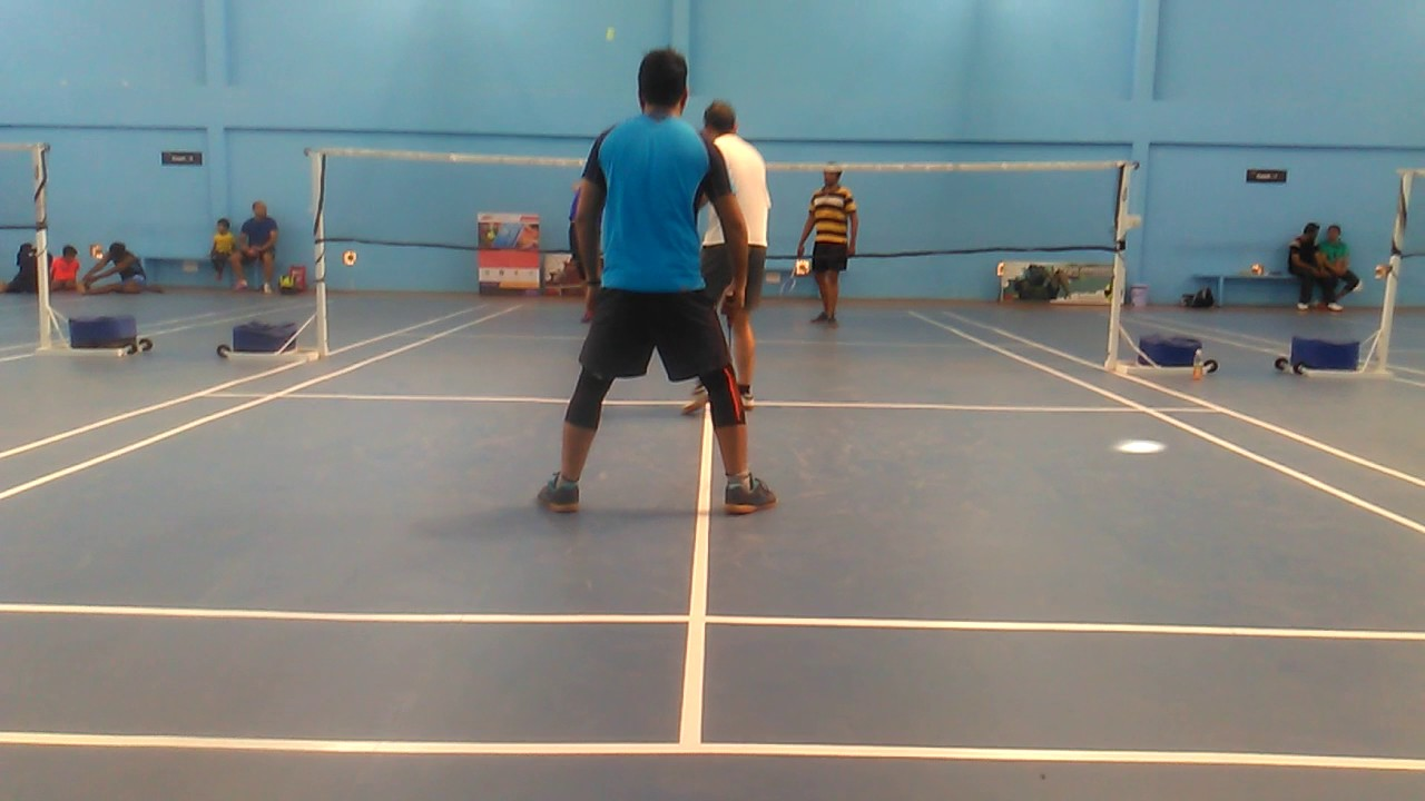 Badminton @ Active Arena - YouTube
