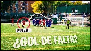 ¡¡¿¿METO GOL DE FALTA??!! ¡¡EL PARTIDO QUE MAS HE DISFRUTADO!! - PARTIDO DE FUTBOL EN LA VIDA REAL