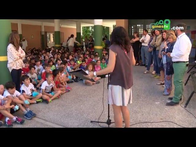 El alumnado del colegio Ángel Campano se suma a las celebraciones del 25 aniversario del centro