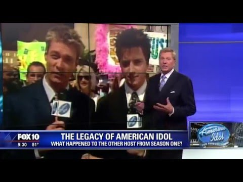 What Happened To The First American Idol Host?