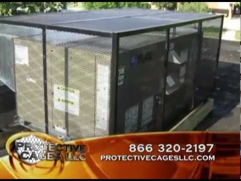 A C Protective Cages Protects Air Conditioner Condensers