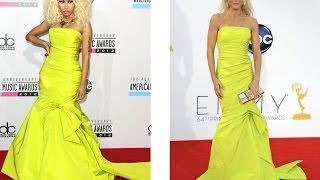 Битва платьев звезд. Одинаковые платья на звездах Голливуда
