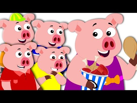 This Little Piggy Went To Market | Nursery Rhymes | Kids Song | Baby Rhymes | Kids Tv Cartoon Songs
