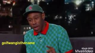 Tyler, the creator use to work at starbucks