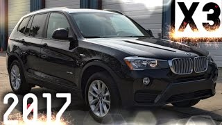 2017 BMW X3 xDrive28i Full REVIEW, Start Up, Exhaust