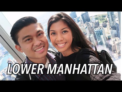 PLACES TO SEE IN LOWER MANHATTAN! ONE WORLD, 9/11 MEMORIAL, BROOKLYN BRIDGE  | New York Travel Vlog