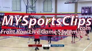 My Sports Clips East Vs Sun Prairie Varsity Boys Basketball