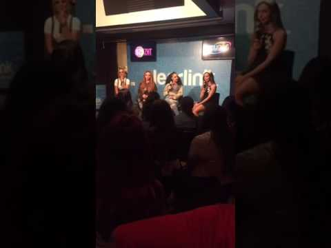 Little Mix Live With 99.5 Radio In Salt Lake City - 21.03.17