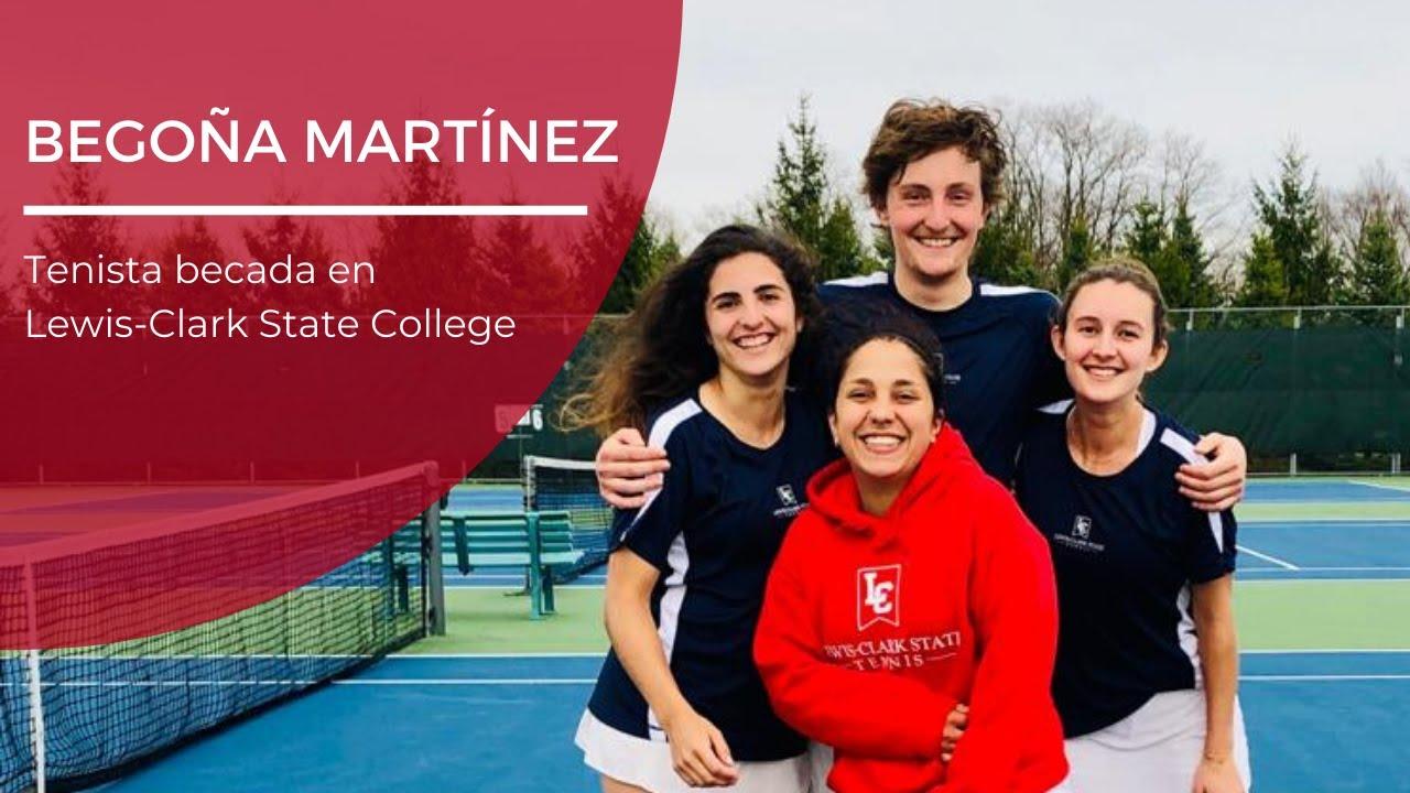 La experiencia de la tenista Begoña Martínez en Lewis-Clark State College