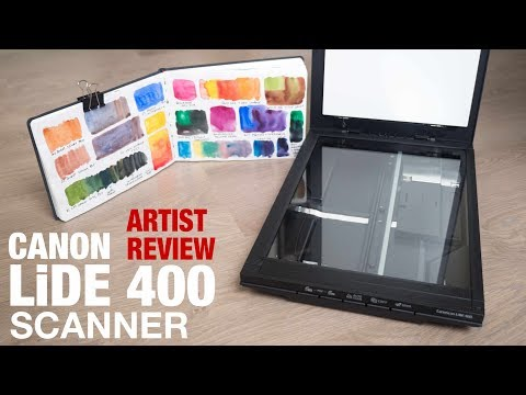 Artist Review: Canon LiDE 400 Scanner