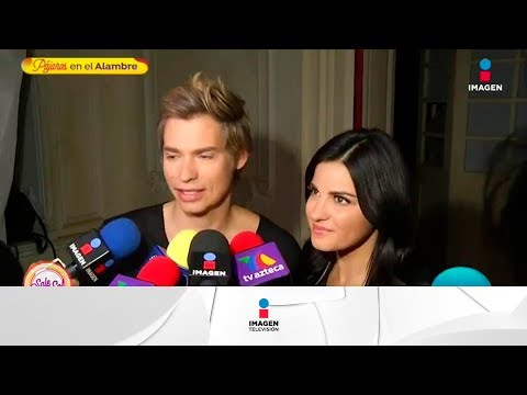 ¡Maite Perroni y Carlos Baute graban video! | Sale el Sol