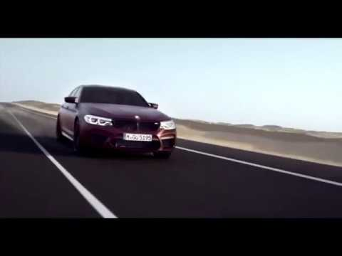 The all new BMW M5  Finally unveiled!