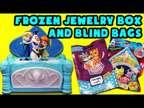 ★disney-frozen-jewelry-box★-kitty-in-my-pocket-blind-bags,-soft-spots-blind-bags-surprises-sorpresas