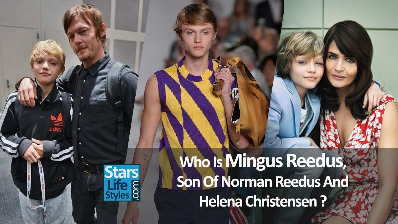 Who Is Mingus Reedus Son Of Norman The Walking Dead Actor And Helena Christensen