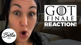 GAME OF THRONES FINALE REACTION from Brie! (SPOILER ALERT!)