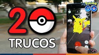 ¡20 TRUCOS Y CONSEJOS en POKEMON GO!