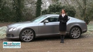 Bentley Continental GT Speed review - CarBuyer