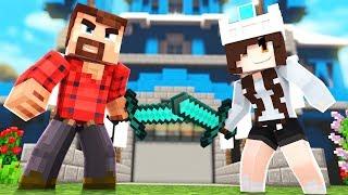 DEFEND THE CASTLE!   Minecraft Battle Royale