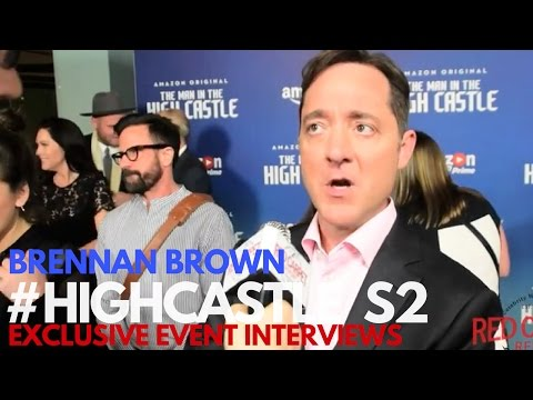 Brennan Brown Interviewed at The Man in the High Castle Season 2 Premiere #HighCastle