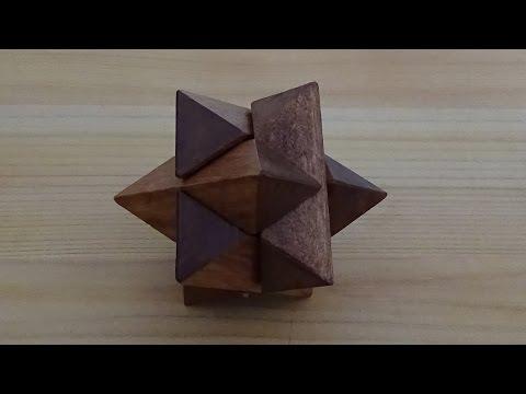 Solution du casse-tête de l'étoile de Galilée