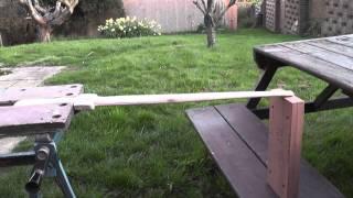 Homemade Wooden Sword!