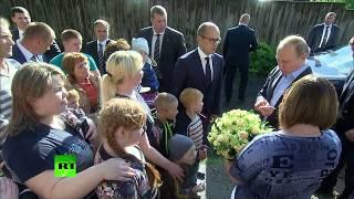 Путин подарил путевку в Сочи пожаловавшейся на аварийное жильё жительнице Ижевска