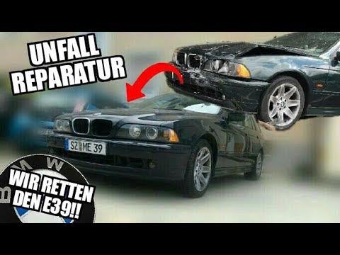 ER LEBT WIEDER! E39 525D reparieren! |  Unfallschaden BMW 5er Touring