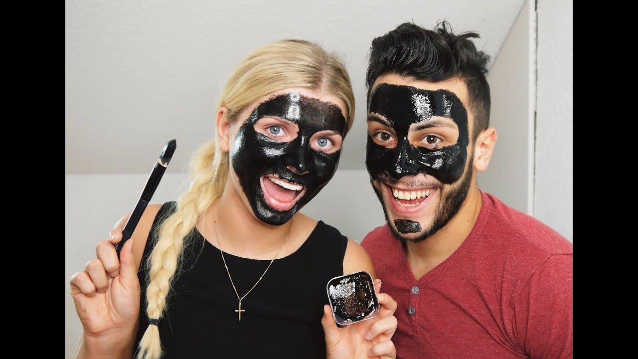 Black Mitesser Maske
