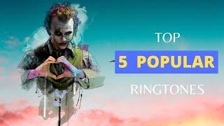 TOP 5 POPULAR RINGTONES   ft.PIKACHU,CHEAPTRILLS,RAVVANA RAVANA,AIRTEL    LINK IN THE DESCRIPTION