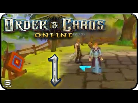 Let's Play [Android] Order & Chaos Online Part 1: Die neue Hoffnung Haradons