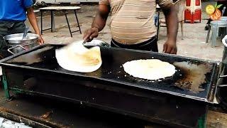 Onion Uttapam (उत्तपम) & Masala Dosa (मसाला दोसा ) | Spicy Food | Popular Indian Street Food Fatafat