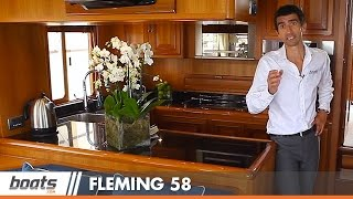 Fleming 58 passage-making motor yacht: first look video