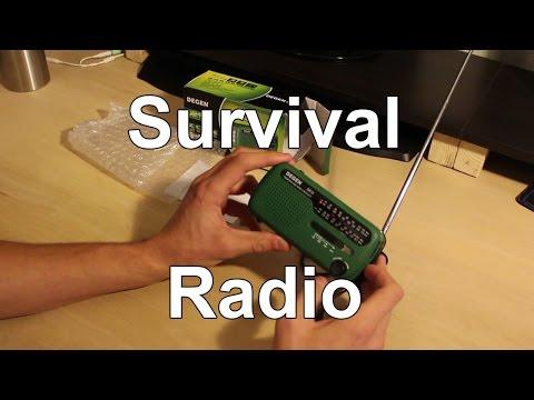 Survival Radio - 4 Power Sources!