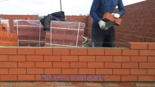 видео Кирпичная кладка