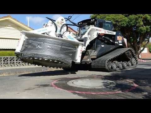 World Amazing Modern Construction Equipment Machinery, Incredible Fastest Road Construction Machines