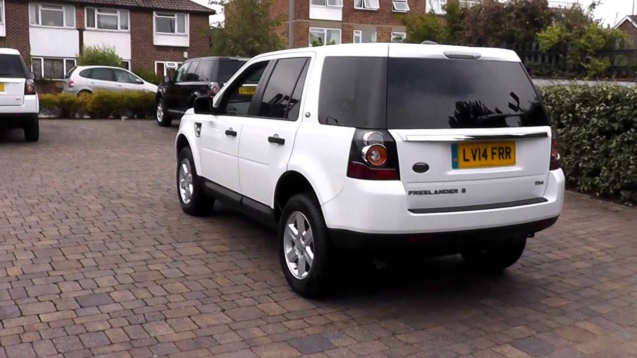 Beadles Fuji White 2014 Land Rover Freelander 2 S 2 2l