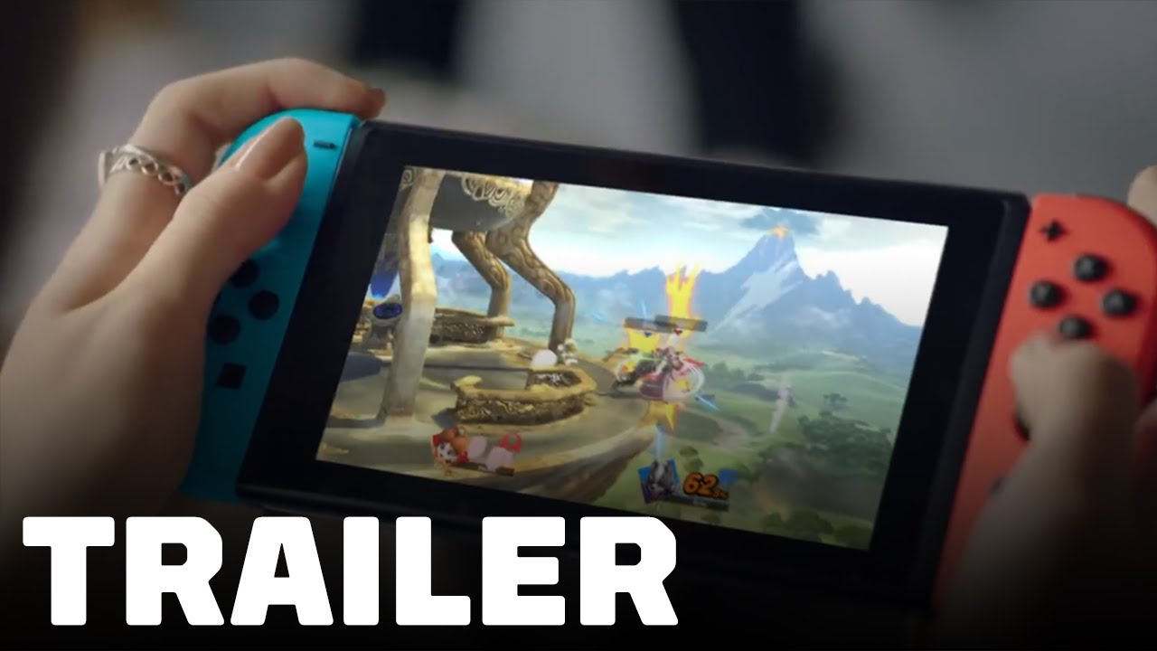 Super Smash Bros. Ultimate - Play Anytime, Anywhere Trailer