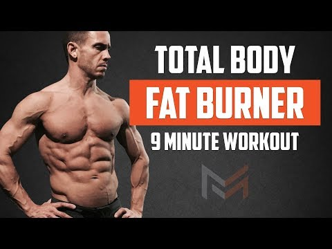 TOTAL BODY FAT BURNING WORKOUT 9 Minute Follow Along Workout