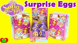 Disney Sofia the First Chocolate Surprise Eggs