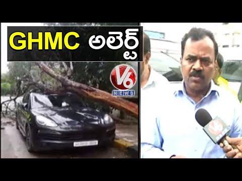 Repeat GHMC Commissioner Dana Kishore Visit Damaged Roads