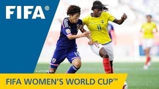 HIGHLIGHTS: Ecuador v. Japan - FIFA Women's World Cup 2015