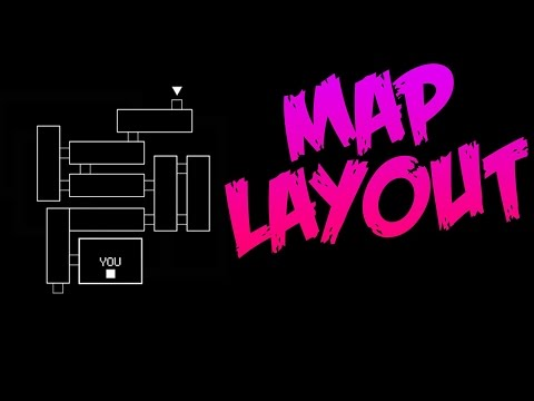 Five Nights At Freddy's 3 Map Layout (New FNAF 3 Teaser Image)