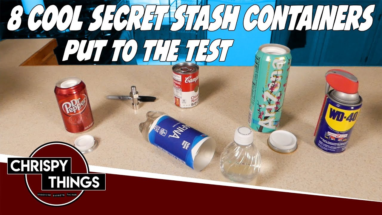 8 Cool Secret Stash Containers Put to the Test!