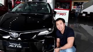 I review the Toyota Corolla Altis V!!
