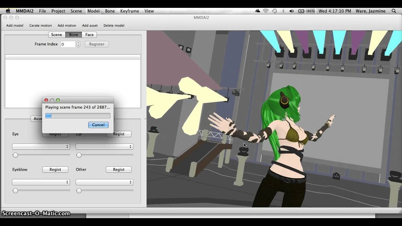 Mmd Mac tutorial (also showing you how to add music files) by Assmiiilk