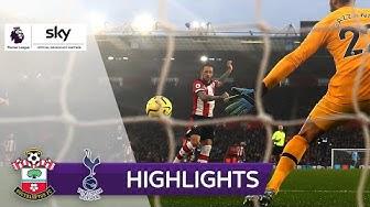 Hasenhüttl siegt gegen Spurs | FC Southampton - Tottenham Hotspur 1:0 | Highlights - Premier League
