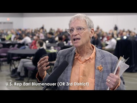 CCC Interview with US Rep Earl Blumenauer
