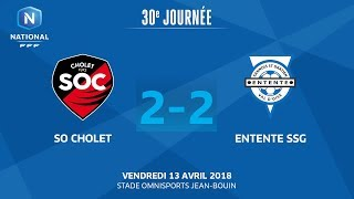 Cholet vs Entente SSG full match